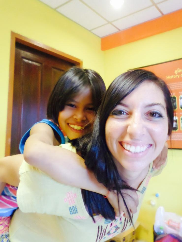 Teacher Megan and Nurin
