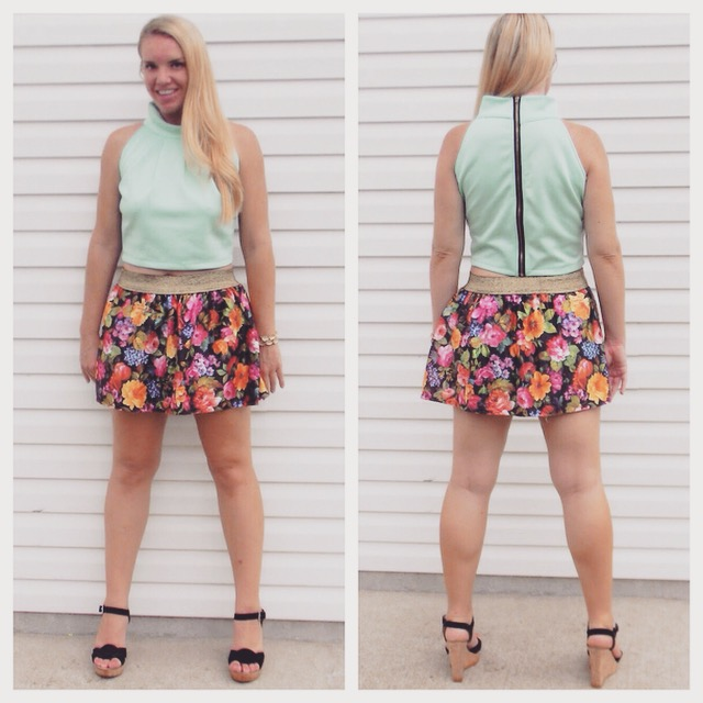 SALE Top $18           Skirt $24
