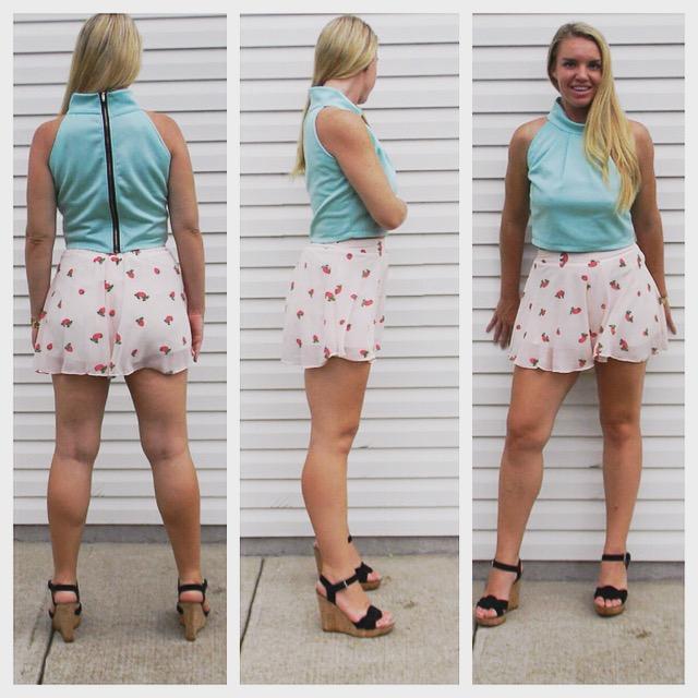 SALE Top $18            Shorts $24