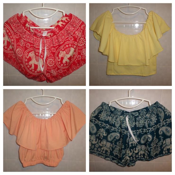 Tops 2/$40 Shorts 2/$20