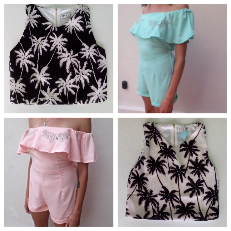 Tops 2/$40 Rompers $32
